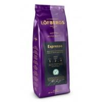 Lofbergs Lila Espresso 400г. зерно ( Швеция )