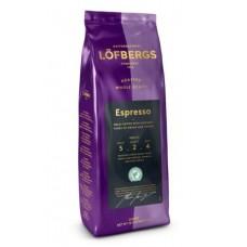 Lofbergs Lila (Лёфбергс Лила) Эспрессо 400г. зерно ( Швеция )