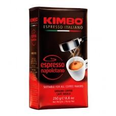 Kimbo Espresso Napoletano Кимбо Эспрессо Наполетано 250г. молотый брикет (Италия)
