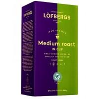 Lofbergs Lila Medium Roast 500г. Лёфбергс Лила Медиум молотый (Швеция)