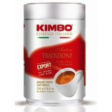 Kimbo Antica Tradizione Кимбо Античные Традиции 250г. молотый в банке (Италия)
