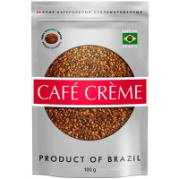 Cafe Creme 100г. метал. пакет (Бразилия Россия)