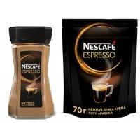 Nescafe Espresso Нескафе Эспрессо нежная пенка 75г. (Франция)