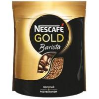 Nescafe (Нескафе) Бариста 75г. растворимый с добавлением молотого кофе (Россия)
