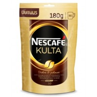 Nescafe Kulta NEW Нескафе Культа 180г. с добавл.молотого кофе (Финляндия)