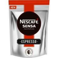 Nescafe Sensa Нескафе Сенса Эспрессо 70г. порошок с молотым кофе (Россия)