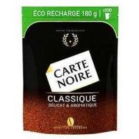 Carte Noire (Карта Нуар)  180г. сублимированный с добавлением молотого кофе (Франция)
