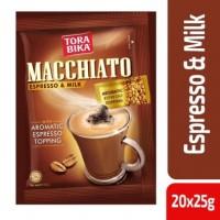 Tora Bika (ТораБика) Мачиато 20 пак. по 25г. пакетик с молотым кофе (Сингапур)