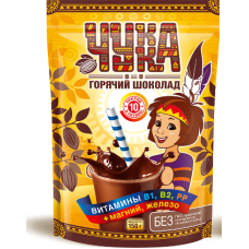 Чукка горячий шоколад 250г. Россия
