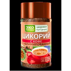 Экологика сублимированный Цикорий с Кофе 85г. (Россия)