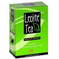 Leoste Green Curls Зелёный Кольца 200г. (Шри-Ланка)