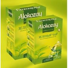 Alokozay Зелёный цейлонский 250г. (О.А.Э.)
