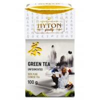 Hyton (Хайтон) Зелёный высокогорный 100г. неферментированный зелёный чай (Китай)