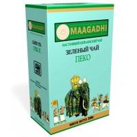 Maagadhi (Магади) Зелёный Пеко 200г. зелёный крупный лист (Шри-Ланка)