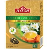 Hyson Green Jasmine Зеленый Жасмин 100г. (Шри-Ланка)