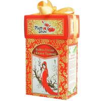 PlumSnow (Плам Сноу) Зеленая улитка с киви и малиной 100г. (Китай)