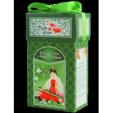 Plum Snow Плам Сноу Зеленая улитка с чабрецом и мятой 100г. (Китай)