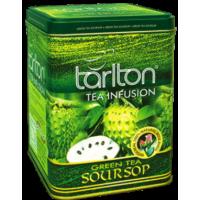 Tarlton Soursop Green Tea 250г. Тарлтон Соусеп зелёный с добавками (Шри-Ланка)