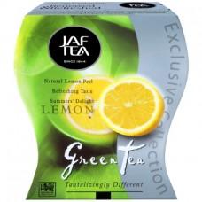 JAF tea Джаф Ти Лимон 100г. зелёный с добавками (Шри-Ланка)