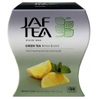 JAF tea (Джаф Ти) Лимон Мята 100г. зелёный с добавками (Шри-Ланка)