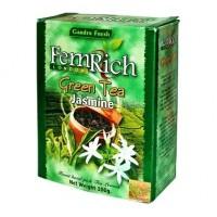 FemRich Фемрич Жасмин 100г. зелёный с добавками (Шри-Ланка)