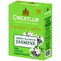 Creatlur (Креатлюр) Зелёный с цветками жасмина 100г. (Шри-Ланка)