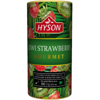 Hyson (Хайсон) Клубника Киви 100г. зелёный с добавками (Шри-Ланка)