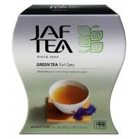 JAF tea (Джаф Ти) Бергамот 100г. зелёный с натурал.маслом бергамота и васильком  (Шри-Ланка)