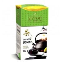 Hyton (Хайтон) Зелёный с Жасмином 100г. высокогорный зелёный чай с бутонами жасмина  (Китай)