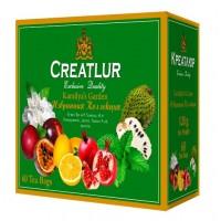 Creatlur (Креатлюр) Зелёное Ассорти 6 видов по 10пак. по 2г. зелёный с добавками 60пак. (Шри Ланка)