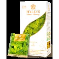 Hyleys Хейлис Гармония Природы зелёный с мятой 25 пак. (Шри Ланка)