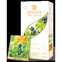 Hyleys Хейлис Гармония Природы зелёный с Черникой 25 пак. (Шри Ланка)
