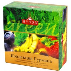 Hyson Gourmet tea Collection green 60 пак. (Шри-Ланка)