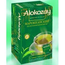 Alokozay Марокканская Мята зелёный чай 25пак. по 2г. (ОАЭ)