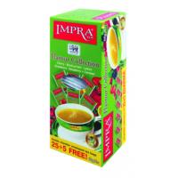 Impra Импра Ассорти 5 вкусов зелёный аромат. 30пак. по 2г. (Шри-Ланка)