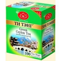 Tea Tang (Ти Тэнг) Королевский зелёный 100пак. по 2г. (Шри-Ланка)