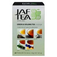 JAF tea Джаф Грин Оолонг Ти Меланж зелёный ассорти 5 видов 20пак. (Шри-Ланка)
