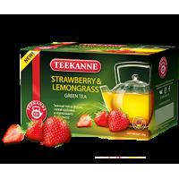 Teekanne Тиканн Клубника Лемонграсс 20пак.по 1.5г. зелёный аромат (Германия)