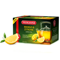 Teekanne Тиканн Манго Лимон 20пак.по 1.5г. зелёный аромат (Германия)