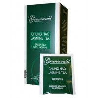 Grunewald Грюнвальд Чунг Хао Жасмин зелёный китайский 25 пак.в сашетах (Германия)