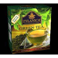 Zylanica Зеланика Зелёный чай 20 пирамидок по 2г. (Шри-Ланка)