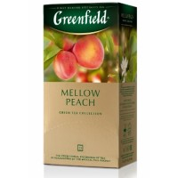 Greenfield Гринфилд Персик Мандарин 25пак. по 1,8г. зелёный аромат (Россия)