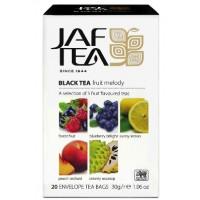 JAF tea (Джаф Ти) Фрут Мелоди ассорти 5 видов 20пак. чёрный с добавками (Шри-Ланка)