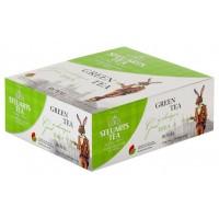 Steuarts (Стюартс) Зелёный 100пак. по 2г. цейлонский зелёный чай  (Шри-Ланка)
