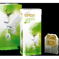 Tarlton (Тарлтон) Зелёный 25пак. по 2г. зелёный пакетированный чай (Шри-Ланка)