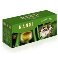 Nansi (Нанси) Зелёный 25пак.по 2г. цейлонский зелёный пакетированный (Шри-Ланка)