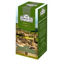 Ahmad Tea (Ахмад) Зелёный чай с Жасмином 25пак. по 2г. в метал.сашетах (Россия)