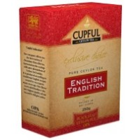 Cupful (Капфул) ОПА 250г. особо крупнолистовой чёрный цейлонский  (Шри-Ланка)