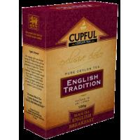 Cupful (Капфул) Английский Завтрак 250г. среднелистовой чёрный чай  (Шри-Ланка)