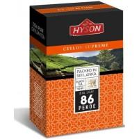 """Hyson Хайсон """"86"""" Пеко 200г. чёрный крупнолистовой (Шри-Ланка)"""